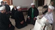 Bağdad seyyidlerinden Şeyh Muhammed Accan`el-Hadid ziyareti