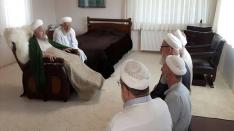İsmailağa Camii Vakfı Başkanı Celal Erzincanlı Beyefendi ve arkadaşları