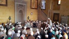 Mahmud efendi hazretleri külliyesinde yapilan hatm-i şerif
