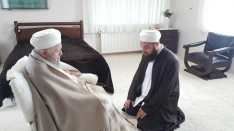Muhammed Gül kardeşimiz, Efendi Hazretlerimize ziyareti