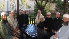 Şeyh Safvan Davûdî, Şeyh Ahmed El-Kadirî ,Şeyh Abdurrahman El-Ğûş ziyareti