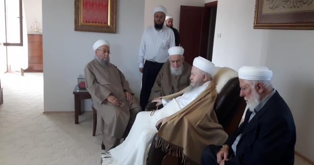Hasan Kılıç ve Mustafa Bilici Hocaefendiler`den Ziyaret