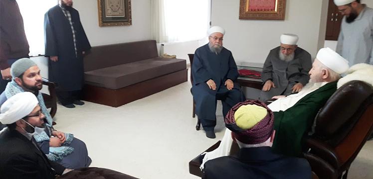 Hasan Efendi ve Mustafa Efendi`den Ziyaret