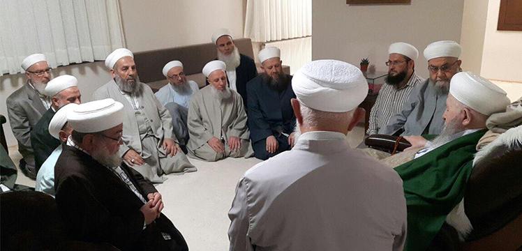 İftar davetine gelen hocaefendiler Efendi Hazretleri`mizi ziyaret etti