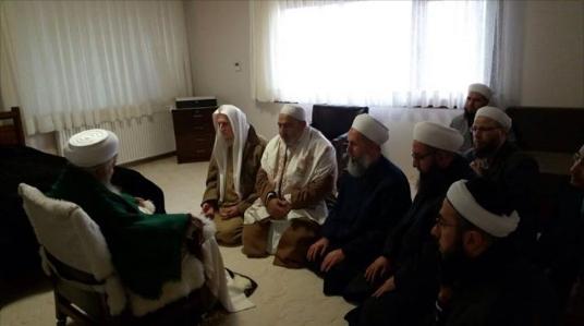 Mahmud Efendi Hazretlerine Ziyaret Eden Alimler