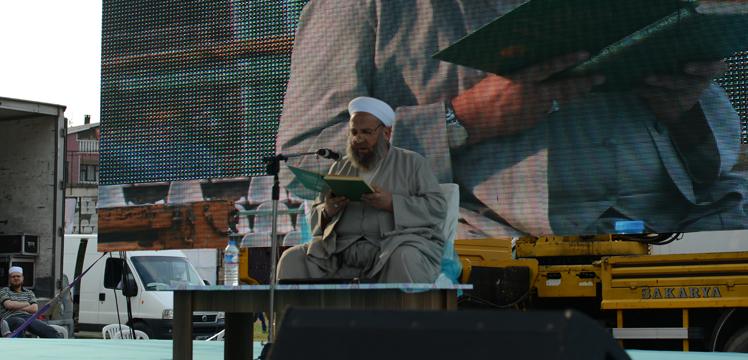 Mehmet Talu Hoca Efendi Ramazanı Şerif ayının faziletlerini anlattı.