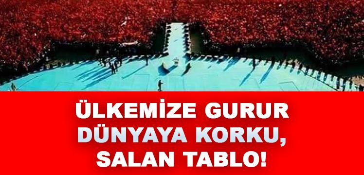 ÜLKEMİZE GURUR, DÜNYAYA KORKU SALAN TABLO!